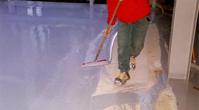 applying Concrete Waterproofing