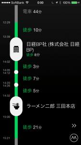プラチナタワーから二郎によって田町から帰った