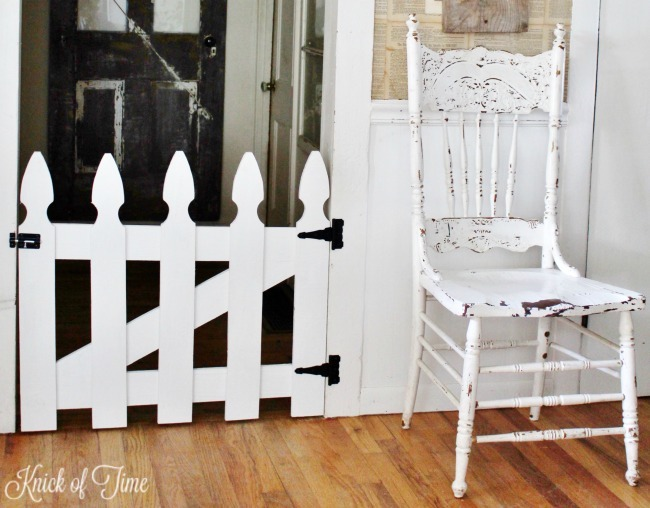 DIY pet or baby gate