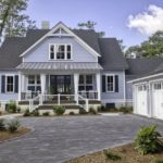 HGTV Dream Home 2020 - Front Yard with garage and large driveway