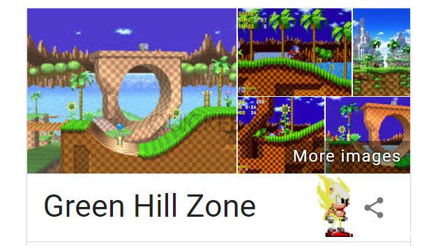funny google tricks, green hill zone, google search tips