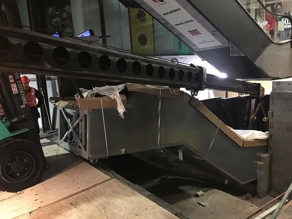 Escalator Install