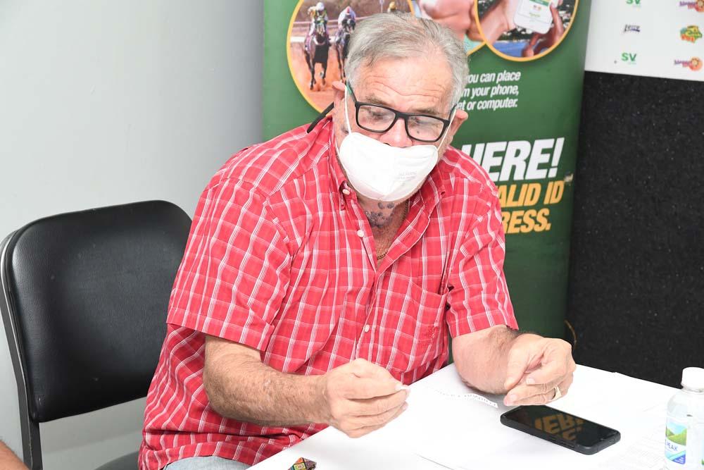 Trainer Philip Feanny (File Photo)