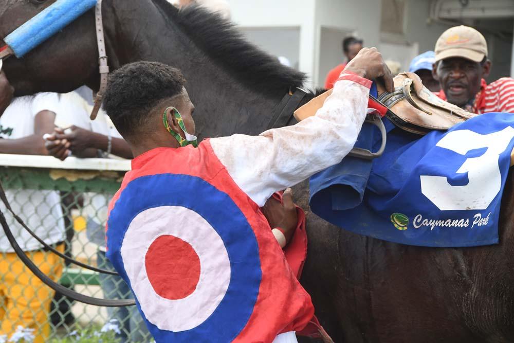 Jockey Reyan Lewis