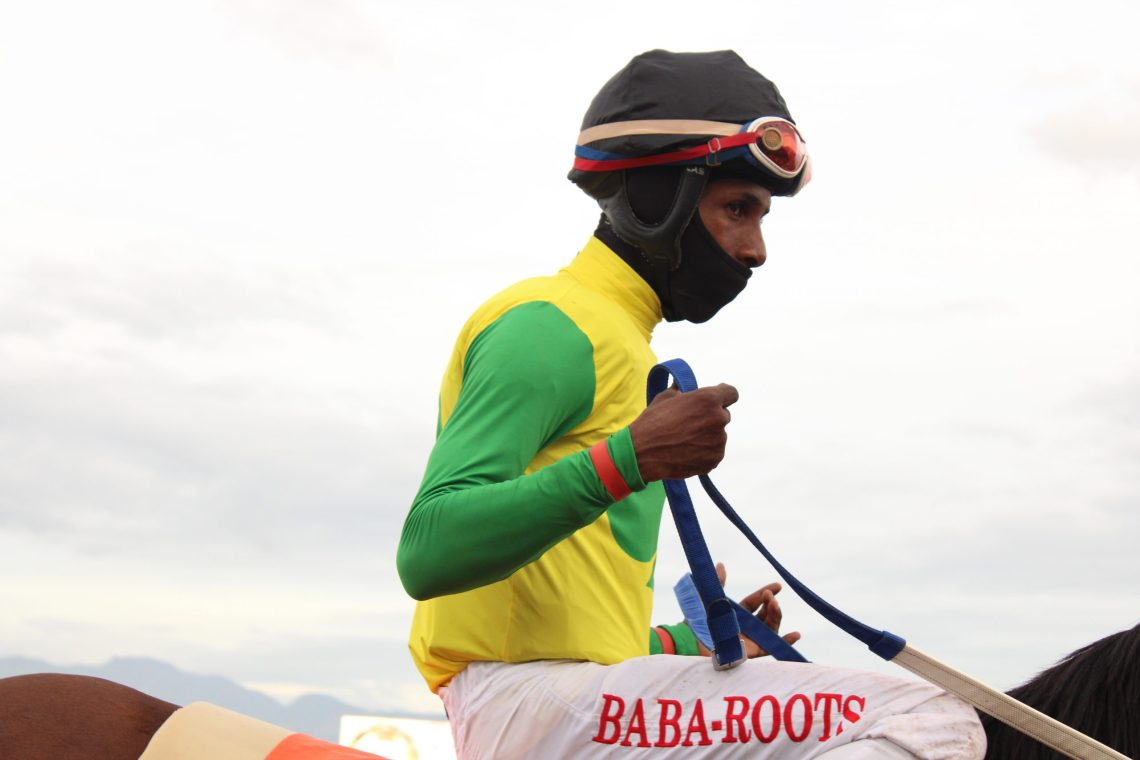 Apprentice Oshane Nugent rode a double on Saturday, January 16, 2021.