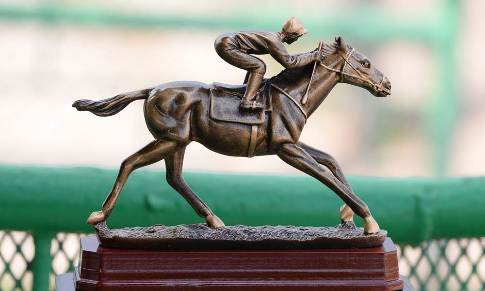The Thornbird Stakes Trophy.