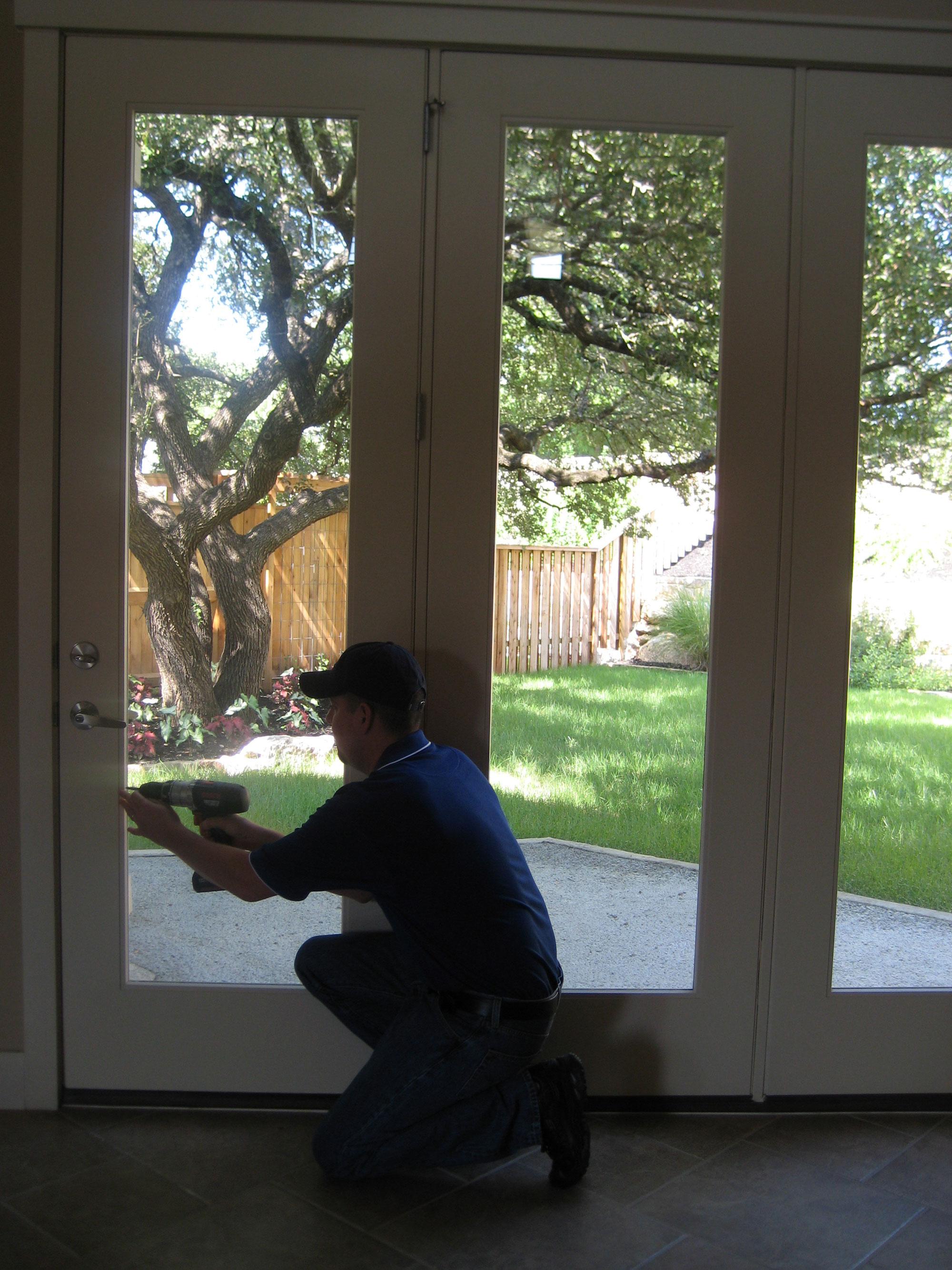 patio door glass replacement in austin