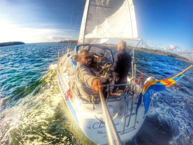 מפליג בים הצפוני , פינלנד