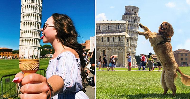 תמונות קורעות ממגדל פיזה שעדיין לא ראיתם, באחריות!
