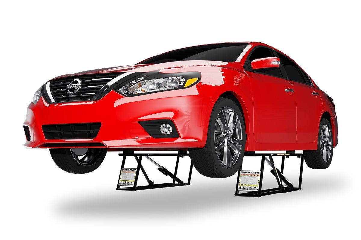 Quickjack BL-3500SLX Portable car lift, car jack, small ...