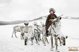 قبيلة-تساتان-في-منغوليا
