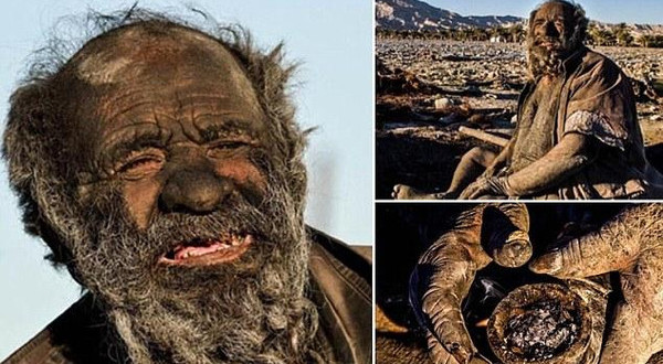 ايراني لايستحم 80 عام