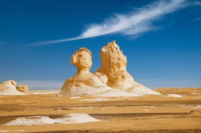 الصحراء البضاء في مصر