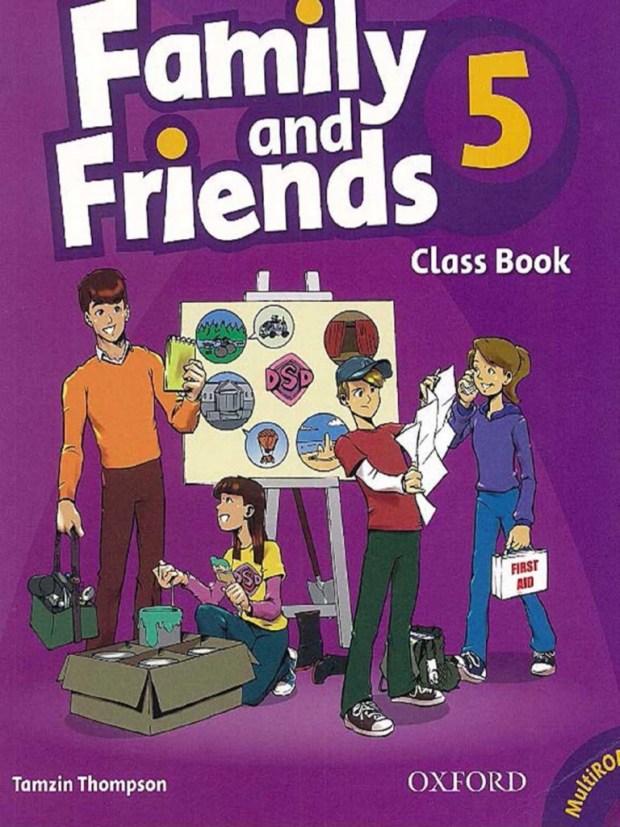 مذكرة Family and Friends للصف الخامس الابتدائي