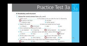 حمل وشاهد اجابات Work Book Practice Test 3 A الثالث الثانوي