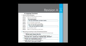 شرح وتحميل اجابات work book revision A اولي ثانوي
