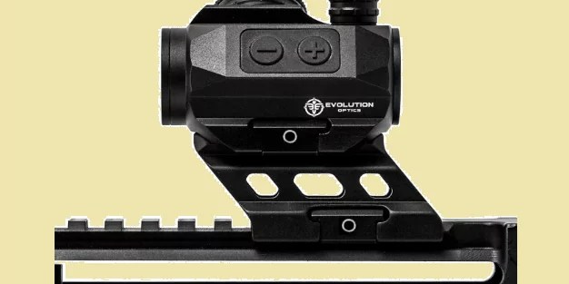 how to mount a red dot sight