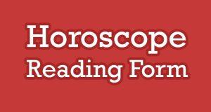 Horoscope Reading