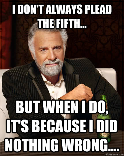 Image result for i plead the fifth
