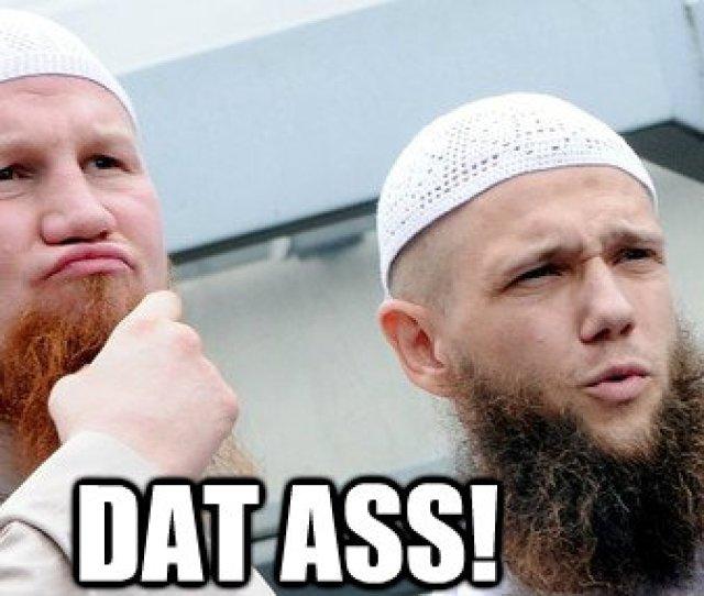 Dat Convert Muslim Ass