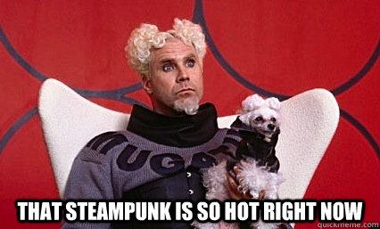 Steampunk meme