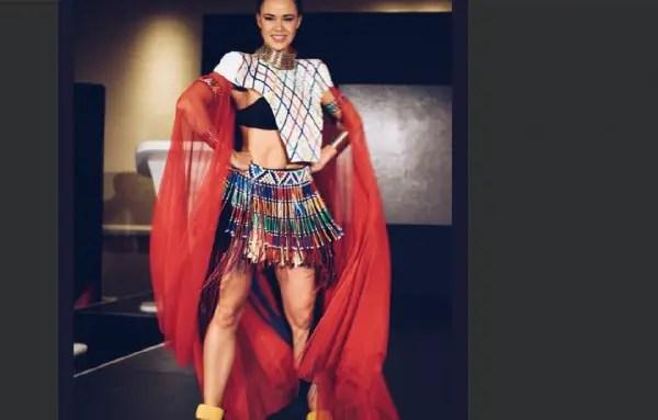 Miss World South Africa Adè van Heerden