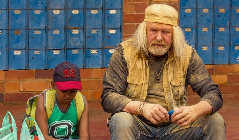 new Leon Schuster film with Themba
