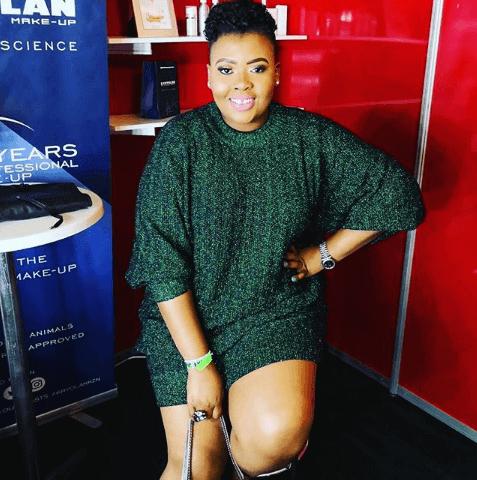 Anele Mdoda hosts the voice SA