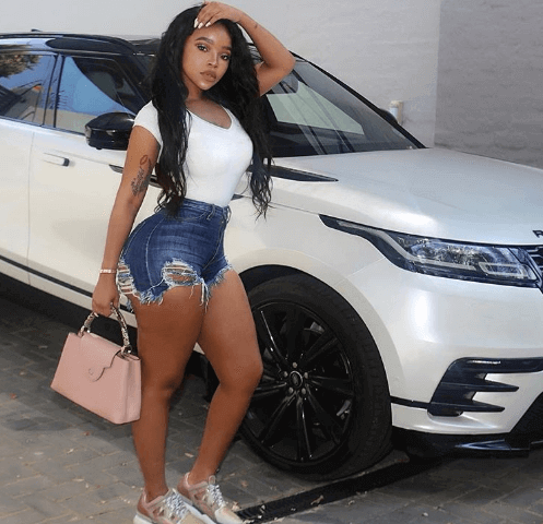 Faith Nketsi car