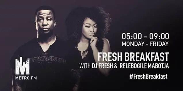 Relebogile Mabotja to join Metro FM