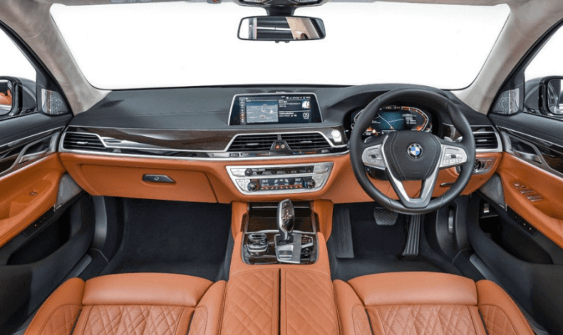 new BMW 7 Series interior