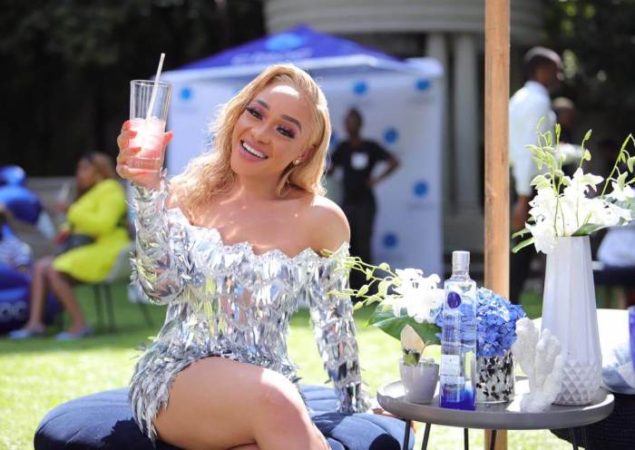 Thando Thabethe CIROC World Vodka Day