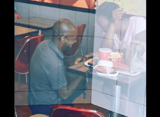 KFC proposal Hector and Nonhlanhla