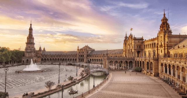 Plaza De España the South of Spain