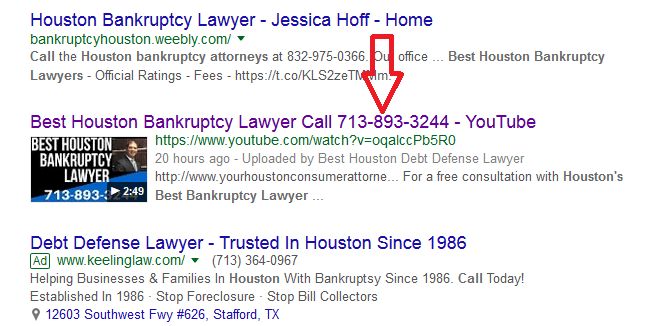 lawyer seo Best Houston Bankruptcy Lawyer
