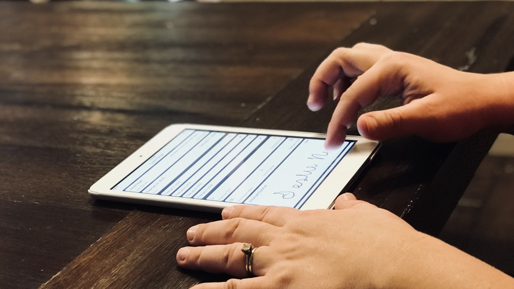Signing electronic timesheet LIVE