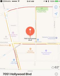 QSP Map client address location GPS