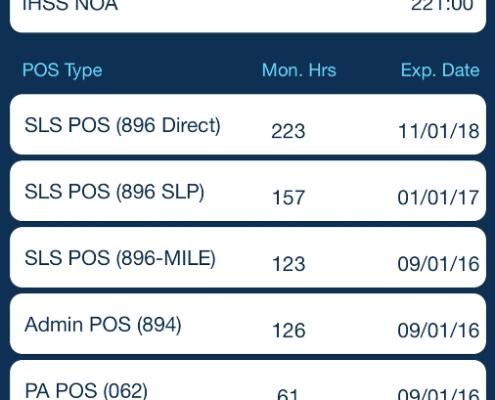Mobile IHSS NOA SLS ILS POS Tracking