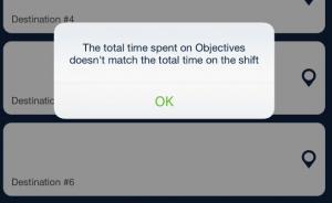 ILS ISP Objective notes shift time comparison_qsp mobile app