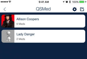 scheduled medication clients_qsp mobile medication tracking app