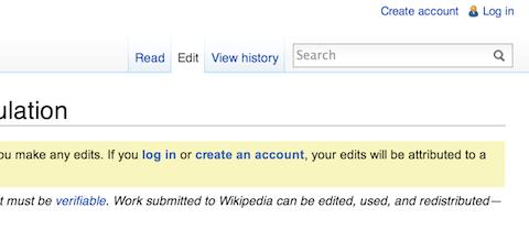 edit wikipedia dead link