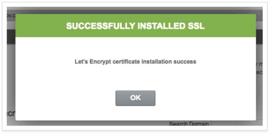 SSL Setup