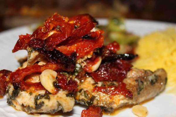 חזה עוף בעגבנית מיובשות
