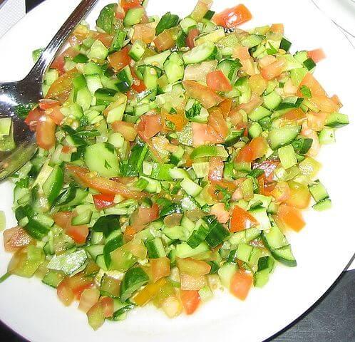 10 סלטי ירקות דיאטטיים