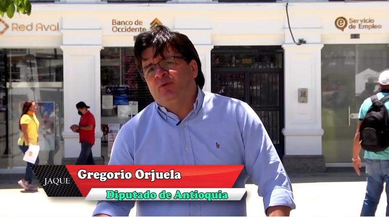 Jaque 2020, diputado antioqueño Gregorio Orjuela