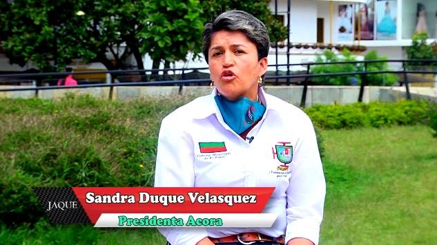 Jaque2020, presidente concejo de EL Peñol, Sandra Duque