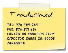 Contacto Traducland