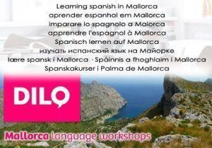 Visita la web de Dilo Mallorca y comprueba que cualquier combinación de vacaciones + clases de castellano es posible.