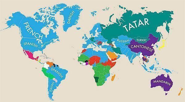 Lenguas cooficiales en el mundo