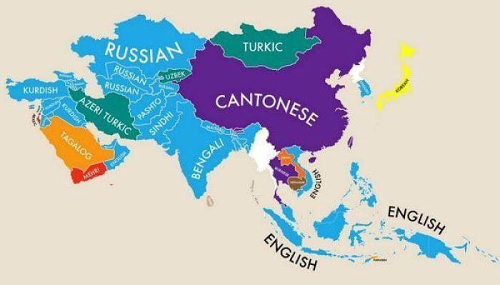 Segundas lenguas en Asia